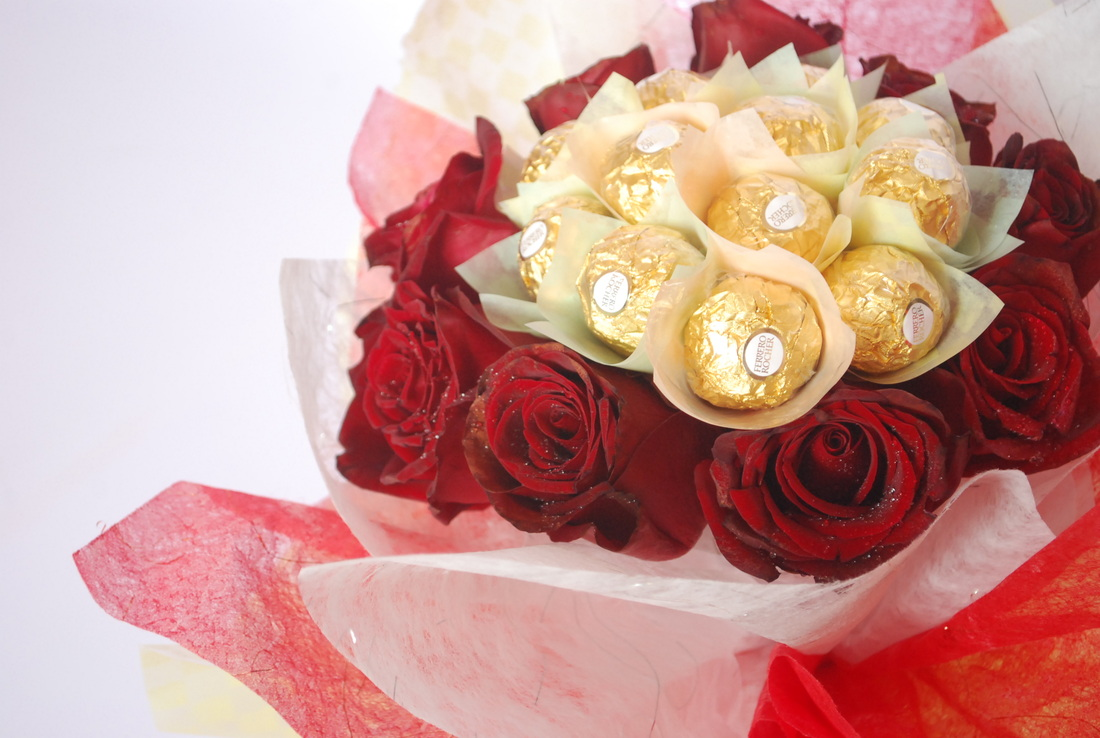 Ferrero Flower Bouquets - Home